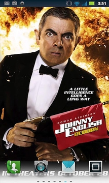 Johnny English: Live Wallpaper