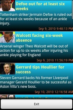 英国足球新闻和信息