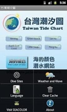 台湾潮汐图