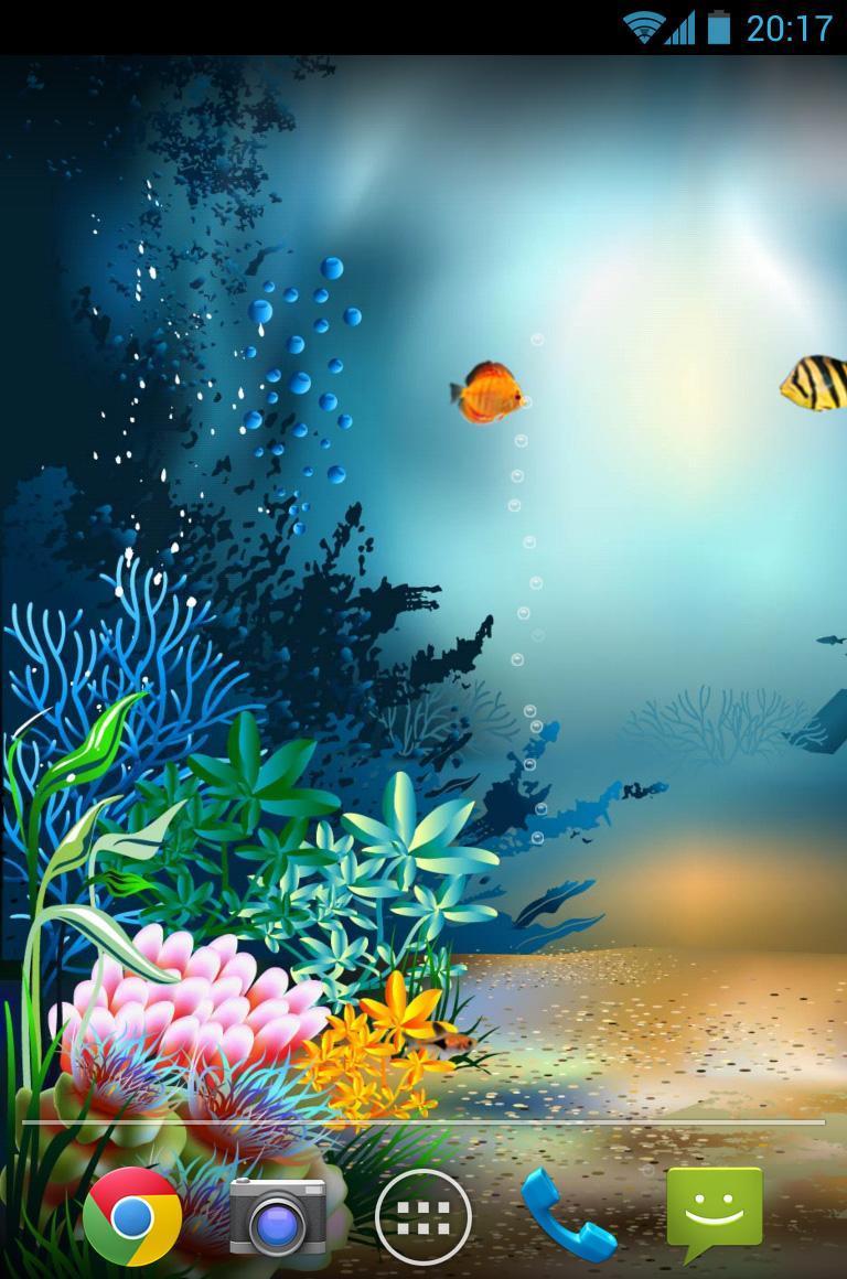 水族馆海底世界动态壁纸