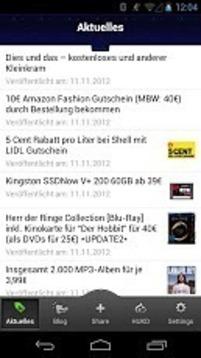 myDealZ Schnäppchen&Gutscheine