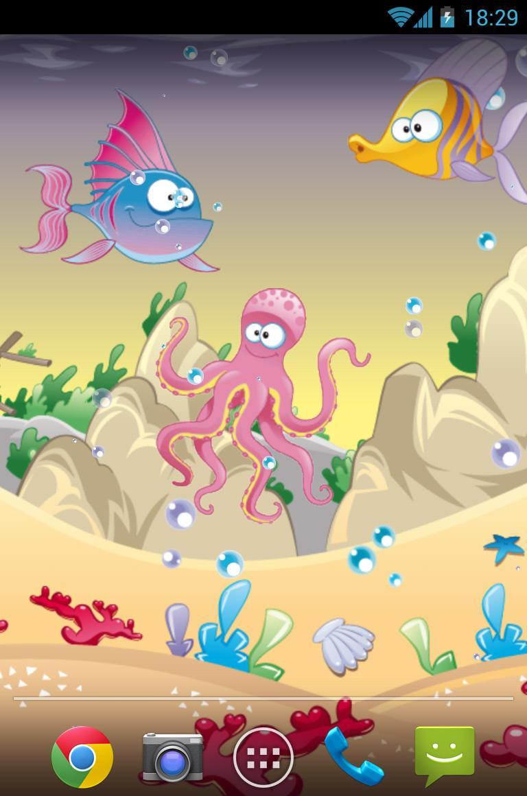 海底世界动态壁纸_安卓海底世界动态壁纸免费下载-pp
