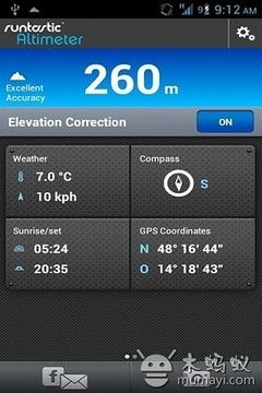海拔测量仪专业版