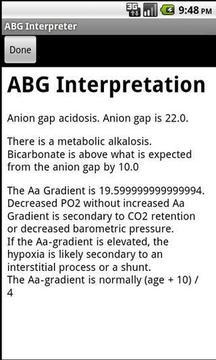ABG Interpreter