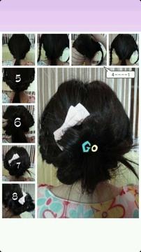 女士发型图解
