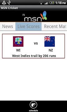 MSN Cricket
