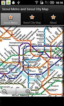首尔地铁运行图 首尔城市地图