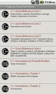 C + +编程参考免费
