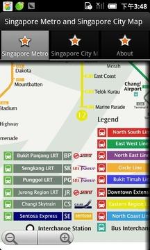 新加坡地图 新加坡地铁