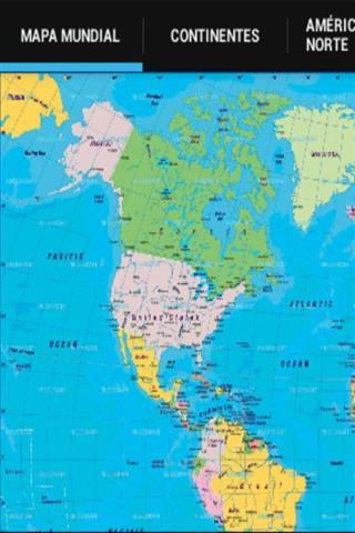 简单的世界地图