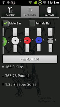Weightlifting Calculator