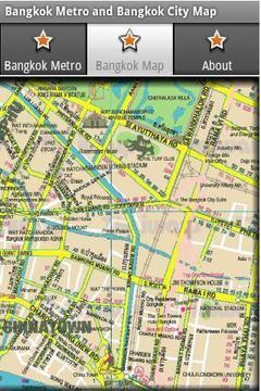 曼谷地铁和曼谷地图