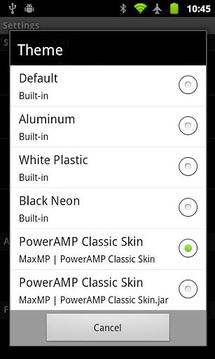 PowerAMP播放器皮肤集合