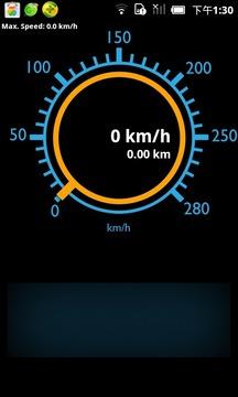 里程表 - 速度