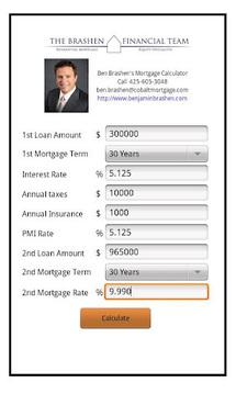 Ben Brashen Mortgage Calc