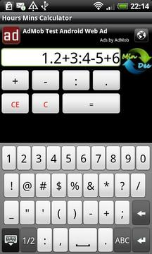 Hours Mins Calculator Free