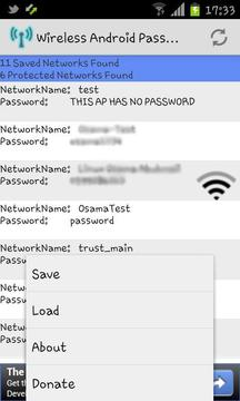 Wireless Android Password