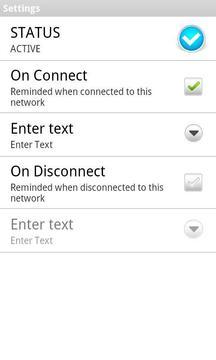 Network Based Reminder