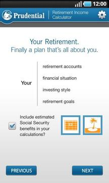 Retirement Income Calculator