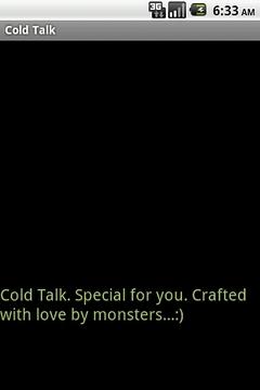 Cold Talk