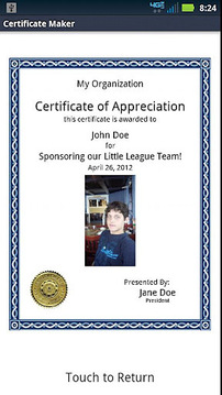 DL Certificate Maker
