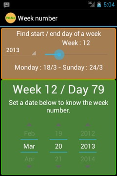 Week Number Simple