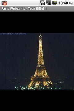 巴黎网络摄像头