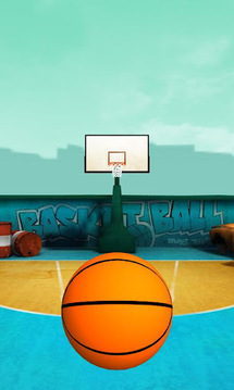 Finger Flick Basketball 3D