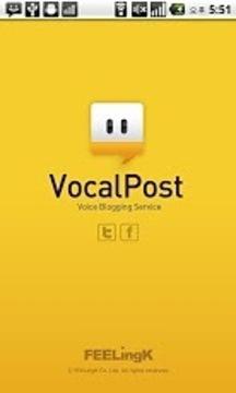 VocalPost, 语音博客服务