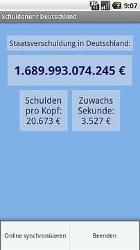 德国的国债钟