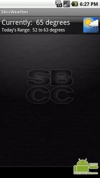 真正的SBCC天气应用程序