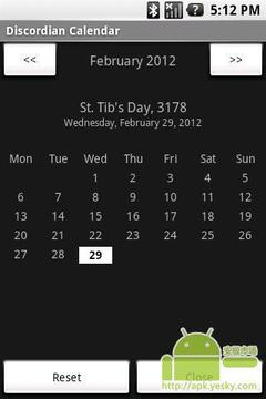 Discordian日历
