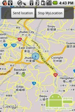 开放地理短信收发器
