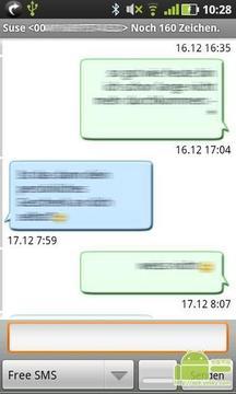 即时浏览Gschickt短信