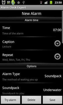 Alarm Clock Expert Free