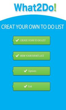 What2Do - To do list