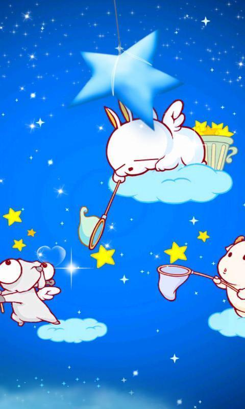 官方 使用pp助手流氓兔捞星记是由绿豆动态壁纸diy出品的一款可爱
