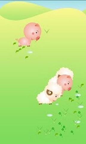 75mb 在这款app中,孩子可认识到许多可爱的小动物,如小猪,绵羊,老鼠等