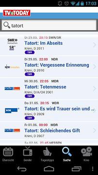 TV Today - TV Programm