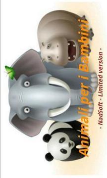 Animali per i Bambini FREE