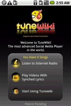 TuneWiki媒体播放器