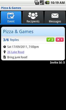 SMS Group Invite