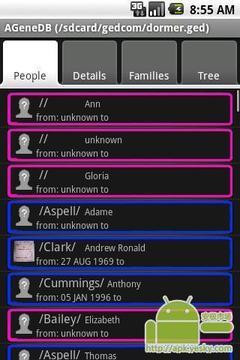 家谱数据库