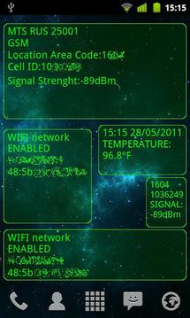 System Info widget