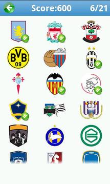 足球标志测验加
