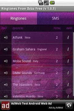 Ringtones from Ibiza Free