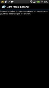 Extended Media Scanner
