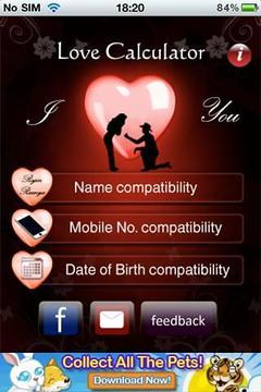 Love Tester(Love Match)