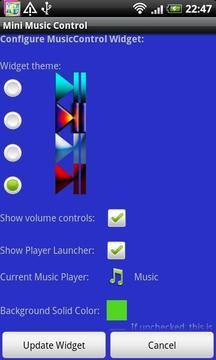 Mini Music Control