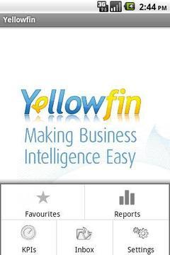 商业关系 Yellowfin